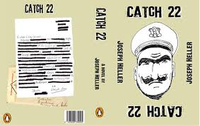catch 22 book cover by blank mange