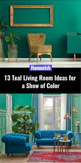 13 teal living room ideas for a show of