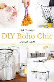 Boho Chic DIY Decor Inspiration  She Lives FreeDiy Boho Chic Home Decor