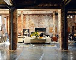 interior brick wall ideas favored vintage style living room decorating design with exposed interior brick wall ideas with decorative wall ideas covering