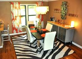 grey animal print rug zebra round decoration hide leopard giraffe brown ivory z