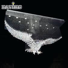 modern crystal chandeliers new eagles design luxury modern crystal chandelier lighting re hall led lights lamp