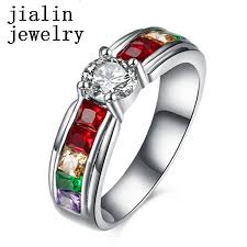 Tanishq Ring Size Chart Latest Colorful Stone Gold Tanishq Diamond Ring Design For Women Buy Gold Ring Design For Women Tanishq Diamond Ring Colorful Stone Gold Ring Design