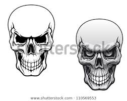 pictures of skulls to color. Delighful Skulls Human Skulls In Color And Monochrome Versions For Tattoo Design Such A  Logo Jpeg With Pictures Of Skulls To Color