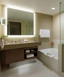 lighted mirror bathroom. Silhouette Lighted Mirror At The Fairmont Pittsburgh Bathroom O