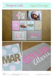 103 Best Baby Book Images Project Life Baby Photograph Album