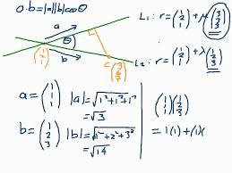 how to find the shortest distance between points on lines vectors