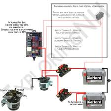 dual alternator wiring diagram dual image wiring marine dual battery isolator wiring diagram jodebal com on dual alternator wiring diagram