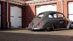 Niall's Slammed Skirted 63 VW Beetle The Video Volks - YouTube