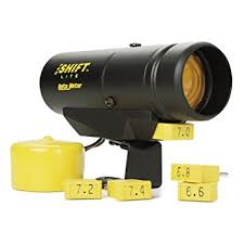 autometer shift light wiring diagram autometer amazon com auto meter 5340 pro shift lite automotive on autometer shift light wiring diagram