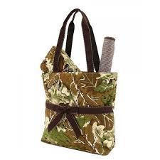 Belvah Bags - Tall Carry All/Diaper Bag (camo/new) & front Adamdwight.com