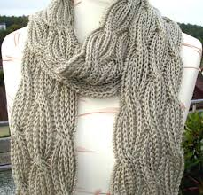 Cable Knit Scarf Pattern Free