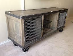 industrial media furniture. Industrial Media Console Furniture