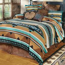 Southwest Bedroom Decor Desert Springs Turquoise Southwestern Blanket King