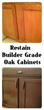 Refinish Wood Cabinets 10 Best Ideas About Refinish Cabinets On Pinterest How To