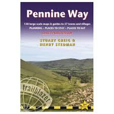 Pennine Way Distance Chart Pennine Way Edale To Kirk Yetholm
