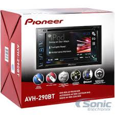 pioneer double din. product name: pioneer avh-290bt double din d
