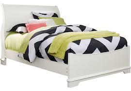 white sleigh bed full. Fine Bed On White Sleigh Bed Full