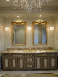 vanity mirrors for bathroom. Luxurious Bathroom Vanity Mirrors With Gloden Frame Chic Cabinet Also Lighting Fixture For