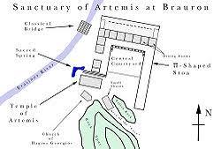 Αποτέλεσμα εικόνας για ναος αρτεμιδας βραυρωνα