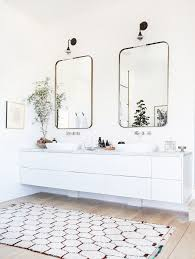 Double Sconce Bathroom Lighting Adorable Simple White Bathroom Vanity Mirrors Sconces The Soul Of Your