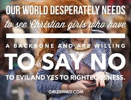 Christian Girl Quotes Best of Our World Desperately Needs To See Christian Girls Who Have A