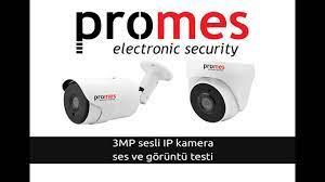 Promes 3mp Sesli Kamera; Ses ve Görüntü Testi - YouTube