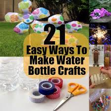 Water Bottles To Decorate 60 Easy Ways To Make Water Bottle Crafts Diy Home Life 50