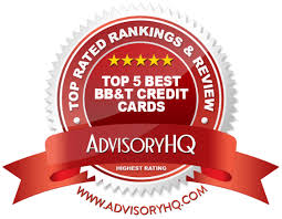 top 5 best bb t credit cards 2017