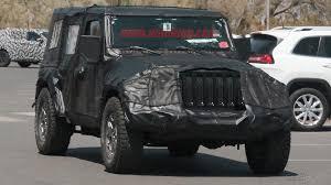 2018 jeep jl. wonderful 2018 brand new jeep wrangler spy photos throughout 2018 jl