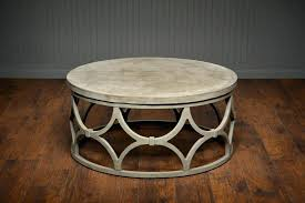 modern outdoor coffee table rustic round rh
