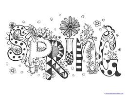 Spring Coloring Pages 1 1 1 1