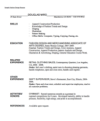 Fashion Merchandising Resume Endearing Fashion Merchandiser Resume