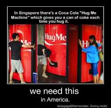 Vending Machine Jokes Impressive Hug Me Vending Machine