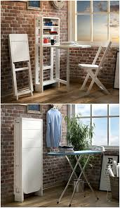 small space convertible furniture. Small Convertible Wall Table With Two Chairs Tables Spaces Space Furniture I