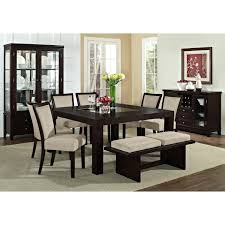 value city dining table bay harvey norman set getexploreapp revit round rugs brown area toronto argos