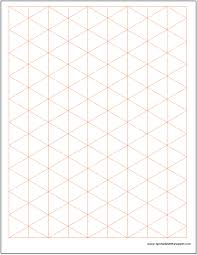 Isometric Graph Paper Template Charts Graphs Templates Graph