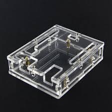 <b>3pcs Transparent Acrylic</b> Module Case <b>Shell</b> For Arduino UNO R3 ...