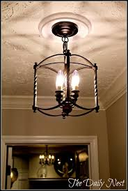 given some hallway love with regard to small hallway chandeliers 2 of 12