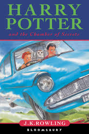harry potter and the chamber of secrets cover artwork