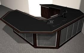 black wrap around desk home design ideas with regard to decor 3 wrap around desk o23