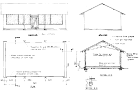 farm structures ch building production construction costing figure 6 2 main drawing for poultry house