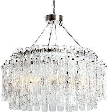 viz glass chandelier suspension chandelier nickel viz glass glass chandelier artist