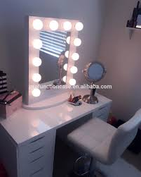 makeup vanity with led lights. professional studio makeup mirror with led lights hair salon lighting table top vanity