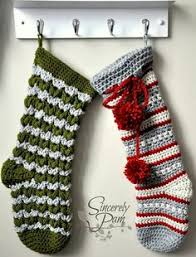 Crochet Stocking Pattern Fascinating Crochet Christmas Stocking Pattern Crochet Pattern Crochet
