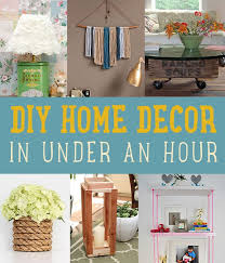 diy home decor in under an hour s diyprojects com