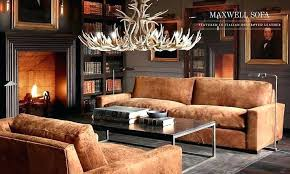 distressed leather living room furniture lovely restoration hardware warehouse ohio dist