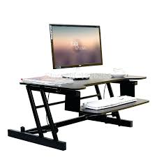 desktop standing computer stand ergonomic easyup height adjule sit stand desk riser foldable laptop desk stand with keyboard tray notebook standing desk