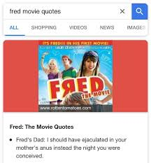 Fred The Movie Quotes Stunning Google Fred Movie Quotes Dankmemes