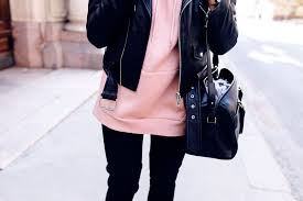 hoo h m leather jacket zara boots stuart weitzman bag saint lau
